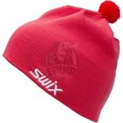Шапочка лыжная Swix Tradition (коралловый)