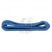 Скакалка для художественной гимнастики с люрексом Amely 3 м (синий/золотой)