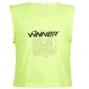 Манишка тренировочная Winner (желтый)