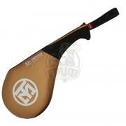 Ракетка для единоборств WT Mooto Extera S2 Single Target Mitt (золотой)