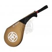 Ракетка для единоборств WT Mooto Double Target Mitt (золотой)