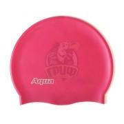 Шапочка для плавания Aqua Silicon (разные цвета)