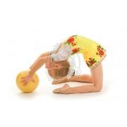 Мяч для художественной гимнастики 160 мм (цвет в ассортименте)