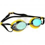 Очки для плавания тренировочные Mad Wave Spurt Rainbow (желтый)