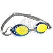 Очки для плавания тренировочные Mad Wave Spurt Rainbow (серый)