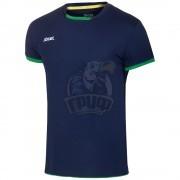 Футболка волейбольная Jögel (темно-синий/зеленый)
