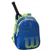 Рюкзак теннисный Wilson Junior (синий/желтый)