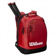 Рюкзак теннисный Wilson Team (красный/черный)