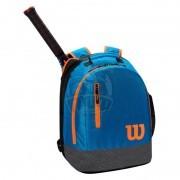 Рюкзак теннисный Wilson Youth (синий/оранжевый)