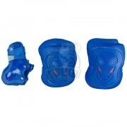 Набор защиты роллера Maxcity Melody Blue (наколенники, налокотники, защита кисти)