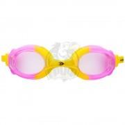 Очки для плавания подростковые Longsail Crystal (желтый/розовый)