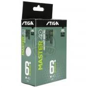 Мячи для настольного тенниса Stiga Master 40+ (белый)