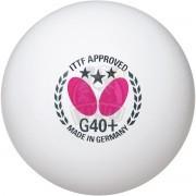 Мячи для настольного тенниса Butterfly Three-Star Ball G40+