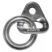 Шлямбурное ухо с кольцом Vento Ø12 мм нержавейка