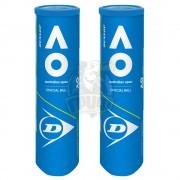 Мячи теннисные Dunlop Australian Open (2x4 мяча в тубе)