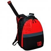 Рюкзак теннисный Wilson Clash (черный/красный)