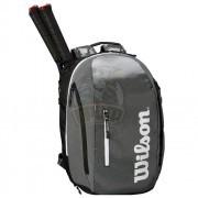Рюкзак теннисный Wilson Super Tour (серый/черный)