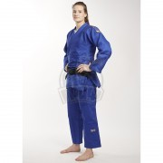 Куртка дзюдо Ippon Gear Legend IJF Slim Fit Blue (75% хлопок, 25% полиэстер)