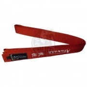 Пояс каратэ с вышивкой Arawaza Red полиэстер/хлопок (красный)