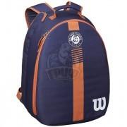 Рюкзак теннисный Wilson Roland Garros Youth (синий/коричневый)
