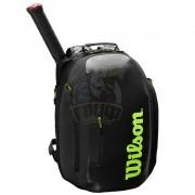 Рюкзак теннисный Wilson Super Tour (черный/зеленый)