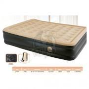 Кровать для сна надувная полутораспальная + электронасос Jilong