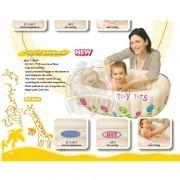 Ванночка для купания младенцев надувная Jilong