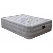 Матрас-кровать надувная полутораспальная + электронасос Intex Queen Ultra Plush Bed