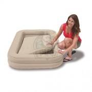 Детская туристическая надувная кровать + насос Intex Kids Travel