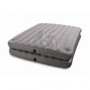 Матрас-кровать надувная полутораспальная Intex Airbed 2 в 1