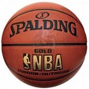 Мяч баскетбольный тренировочный Spalding Gold Indoor/Outdoor №7