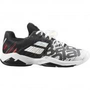Кроссовки теннисные мужские Babolat Propulse Fury AC (белый/черный)