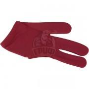 Перчатка для бильярда Dynamic Billard (бургунди)