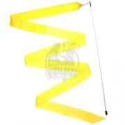 Лента гимнастическая Effea 6 м (желтый)