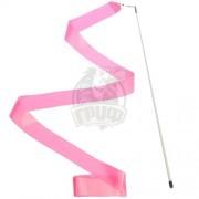 Лента гимнастическая Effea 6 м (розовый)