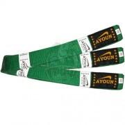Пояс каратэ Ayoun 100% хлопок (зеленый)