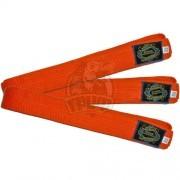 Пояс каратэ Ayoun 100% хлопок (оранжевый)