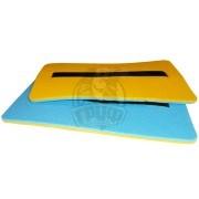 Сиденье туристическое двухслойное Экофлекс 8 мм (голубой/желтый)