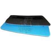Сиденье туристическое двухслойное Экофлекс 10 мм (синий/антрацит)