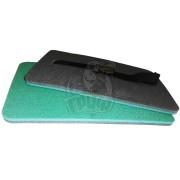 Сиденье туристическое двухслойное Экофлекс 12 мм (зеленый/антрацит)