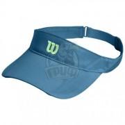 Козырек  спортивный Wilson Rush Knit Visor (голубой)