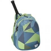 Рюкзак теннисный Wilson Junior (синий/зеленый)