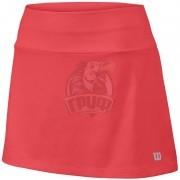 Юбка спортивная для девочек Wilson Core 11 Skirt Girl (розовый)
