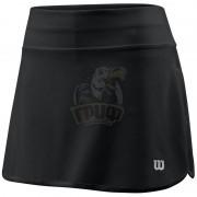Юбка теннисная женская Wilson Training 12.5 Skirt Women (черный)
