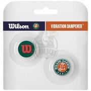Виброгаситель Wilson Roland Garros Vibra Dampener (зеленый/оранжевый)