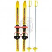 Комплект детских лыж Олимпик ''Вираж-спорт'' 100 см (лыжи+палки+крепление)