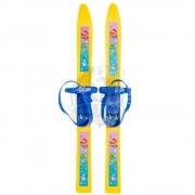 Лыжи пластиковые детские ''Олимпик-Спорт'' 66 см с креплениями