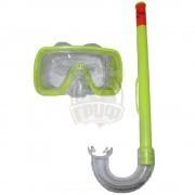 Набор для плавания подростковый Escubia Fun Jr (желтый)