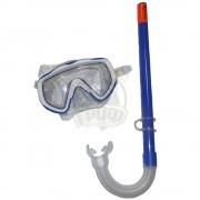 Набор для плавания подростковый Escubia Splash Jr (синий)