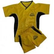 Форма футбольная детская Kappa (желтый/черный)